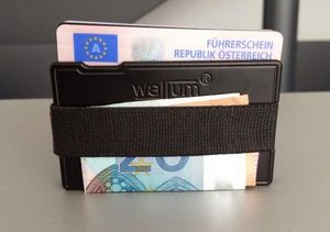 WALLUM - THE NEW SIMPLE WALLET -  - Geldscheinklammer