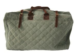 BYROOM - quilt/leather - Reisetasche