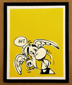 COMIC ART - asterix - Serigrafie