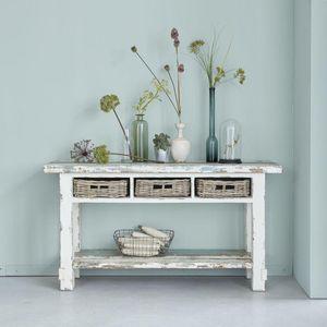 BOIS DESSUS BOIS DESSOUS - console en bois de pin recyclé 150 atlantic - Konsolentisch