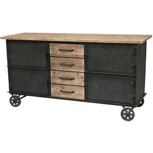 CHEMIN DE CAMPAGNE - buffet bahut console enfilade meuble cuisine à rou - Servierwagen