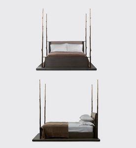 JIUN HO - aomori - Doppel Säulenbett