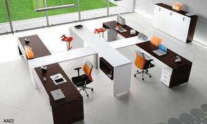 ID.Bureaux Mobilier & Agencement -  - Schreibtisch Büroräume