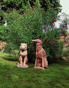 Enzo Zago - chiens - Tierskulptur