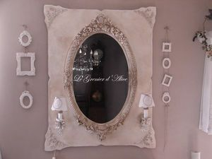 Le Grenier d'Alice - miroir07 - Beleuchteter Spiegel