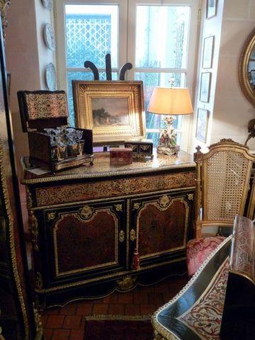 Art & Antiques - Sideboard-Art & Antiques-Commode/Pantalonnière/Secrétaire en marqueterie Boulle