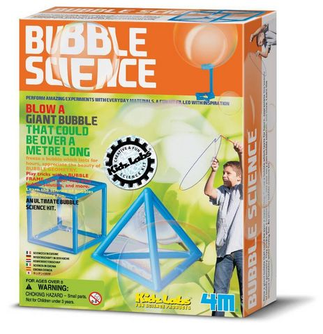 4M - Gesellschaftsspiel-4M-L'atelier à bulles bubble science