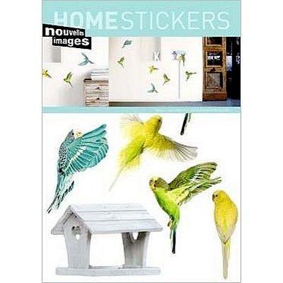 Nouvelles Images - Sticker-Nouvelles Images-stickers adhésif Les oiseaux Nouvelles images