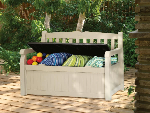 Chalet & Jardin - Terrassensessel-Chalet & Jardin-Banc garden bench en polypropylène 265l 140x60x84c