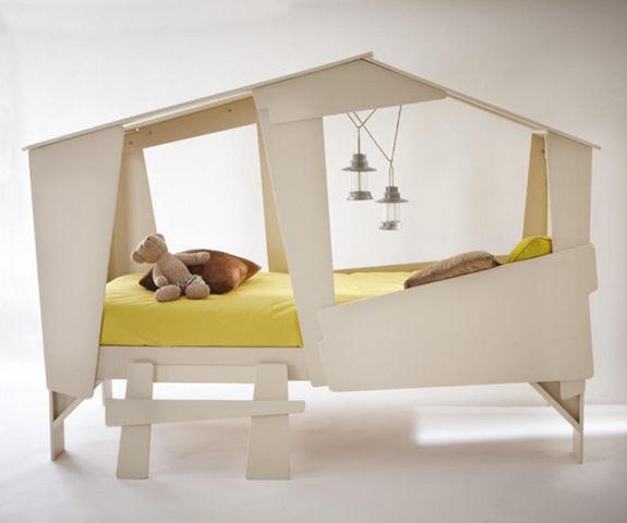 Basika - Hütte Bett für Kinder-Basika