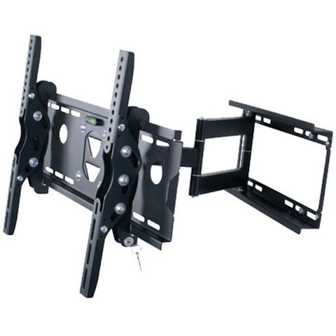 WHITE LABEL - TV-Halter-WHITE LABEL-Support mural TV pivotant inclinable