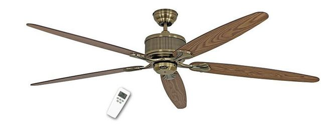 Casafan - Deckenventilator-Casafan-Ventilateur de plafond DC 180 Cm, Eco Elements MA,