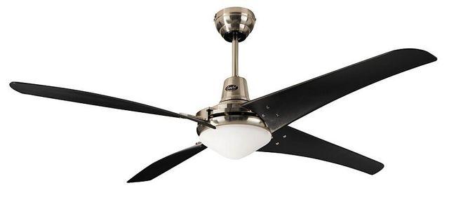 Casafan - Deckenventilator-Casafan-Ventilateur de plafond, Mirage BN-SW, moderne indu