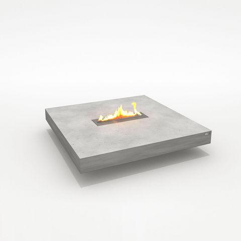 CO33 - Tisch mit Feuerstelle-CO33-Table de salon en b?ton avec chemin?e ?thanol