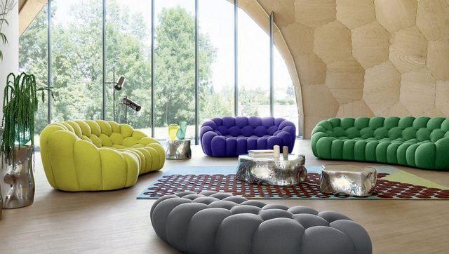 ROCHE BOBOIS - Sofa 3-Sitzer-ROCHE BOBOIS-BUBBLE --