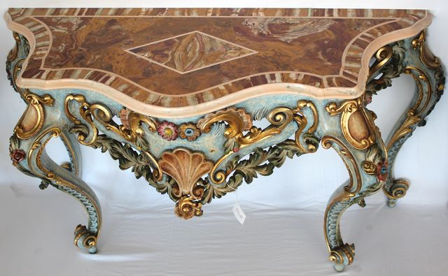 PASQUINI MARINO - Konsolentisch-PASQUINI MARINO-Stile 700 Veneziano