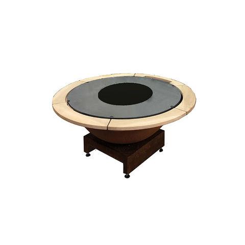 QUOCO - Tisch mit Feuerstelle-QUOCO
