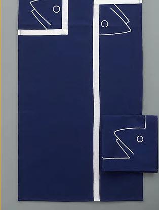 Le Minor - Tischläufer-Le Minor-Concarneau bleu