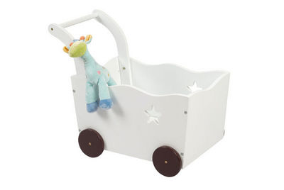 Miliboo - Spielzeugkiste-Miliboo-ETOILE coffre jouets chariot
