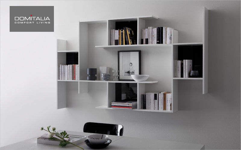 Domitalia Estantería de pared múltiple Estanterías Armarios Cómodas Comedor | Design Contemporáneo