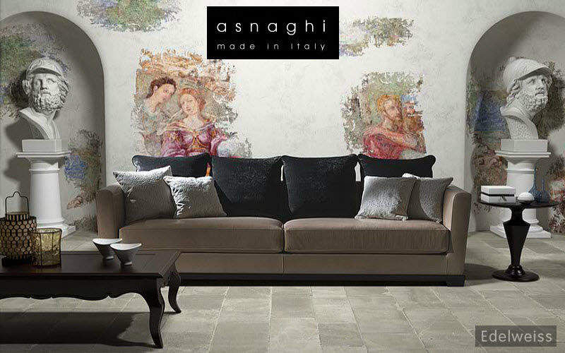 Asnaghi Sofá 3 plazas Sofás Asientos & Sofás  |