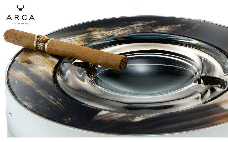ARCAHORN Cenicero de puros Tabaco Objetos decorativos Salón-Bar | Clásico