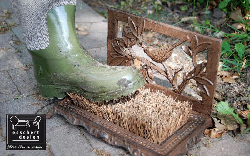 Esschert Design Cepillo para botas Varios Exterior Jardín Diverso Jardín-Piscina | Rústico