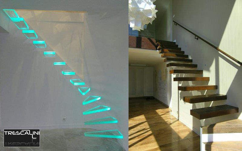 TRESCALINI Escalera recta Escaleras/escalas Equipo para la casa   