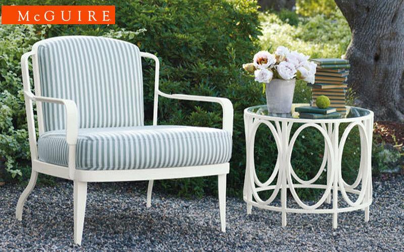 McGUIRE Sillón de jardín Sillones de exterior Jardín Mobiliario  | Clásico