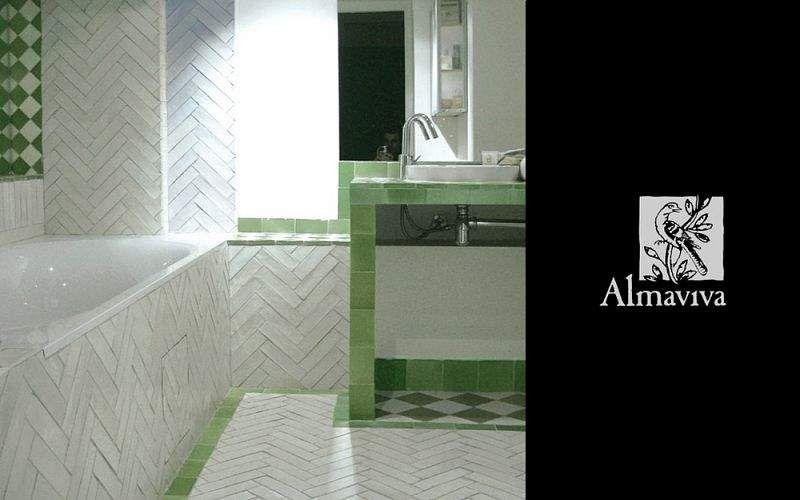 Almaviva Zellige Azulejos para paredes Paredes & Techos Baño | Lugares exóticos
