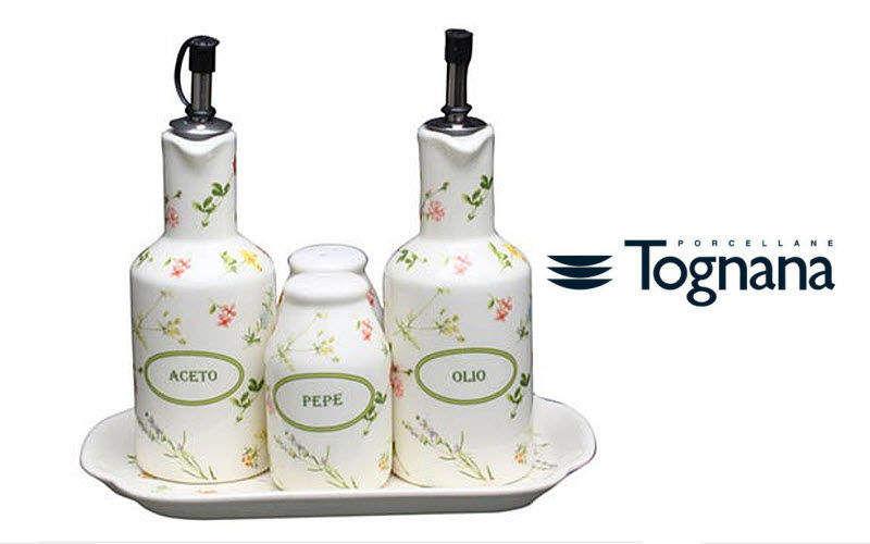 TOGNANA PORCELLANE Set para condimentos Portaespecias & portacondimentos Mesa Accesorios  |
