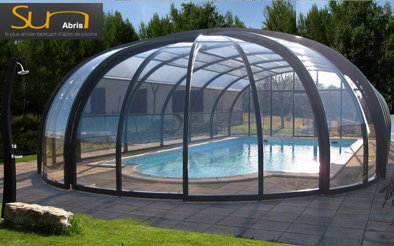 Sun Abris Cubierta de piscina fija independiente Cabinas de piscina Piscina y Spa   