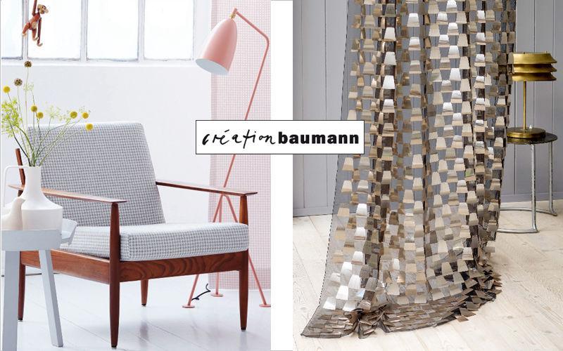 Creation Baumann Cortina con grapas Cortinas Tejidos Cortinas Pasamanería  |