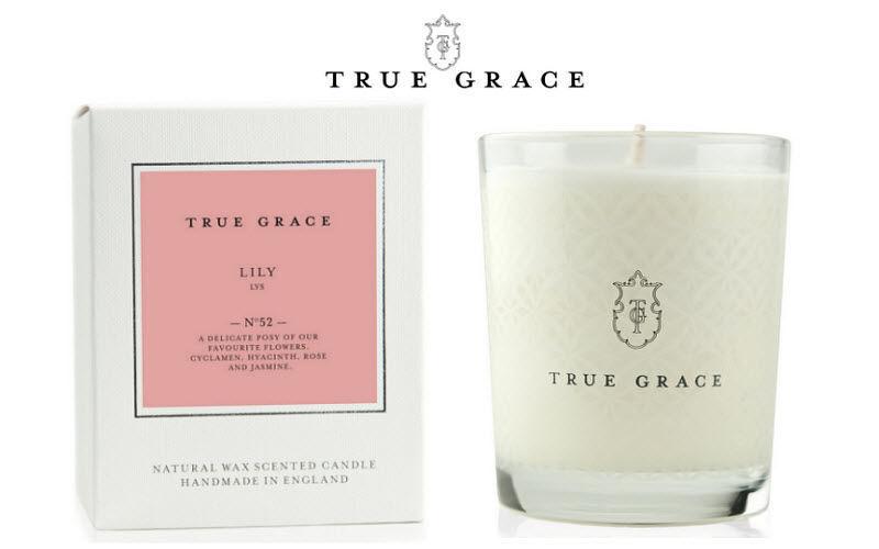True Grace Vela perfumada Aromas Flores y Fragancias  |