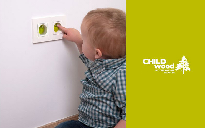 CHILDHOME Protector de enchufe Iluminación infantil El mundo del niño  |