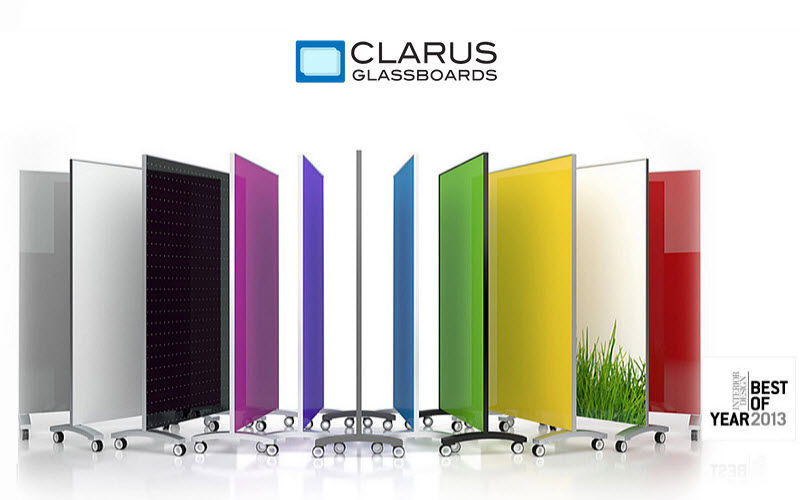 CLARUS GLASSBOARDS Tabique de separación Tabiques y paneles acústicos Paredes & Techos  |