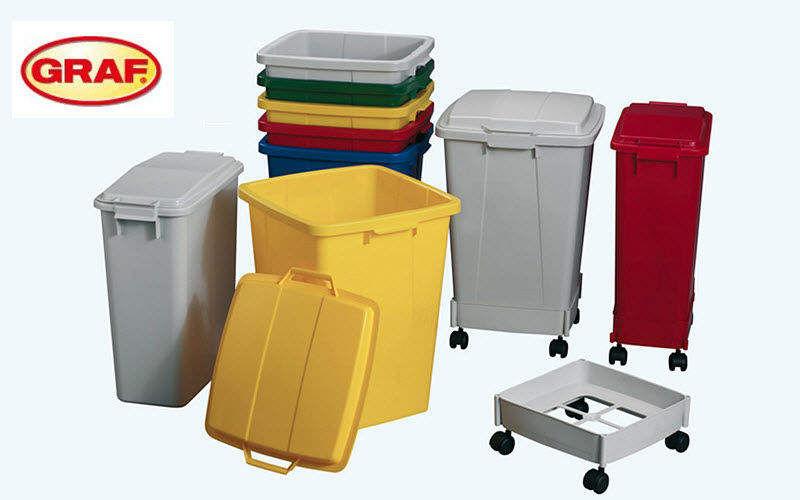 GRAF Contenedor de basura Mobiliario urbano Jardín Diverso  |