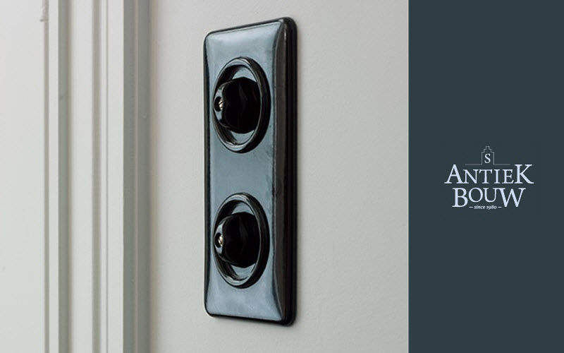 Antiek-Bouw Interruptor rotativo Electricidad Iluminación Interior   