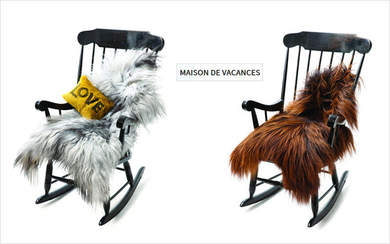 Maison De Vacances piel de animal Piel de animal Alfombras Tapices  |