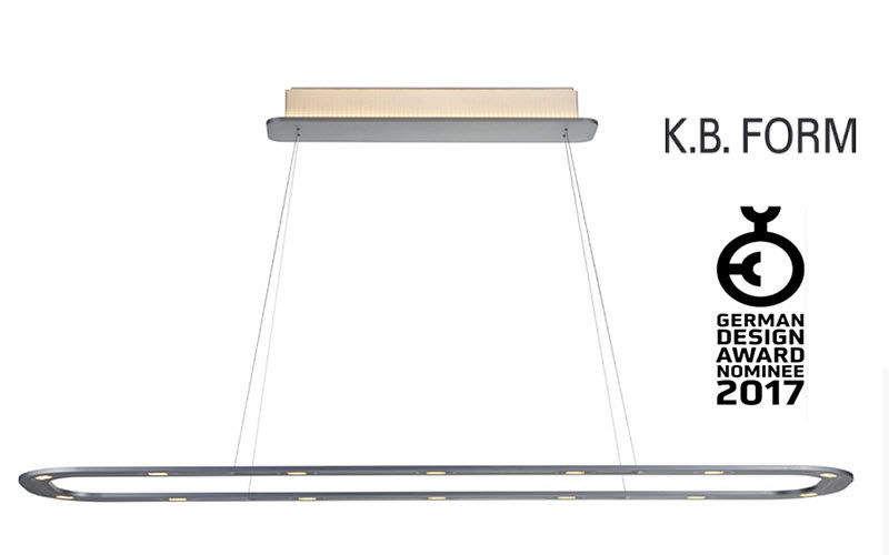 K.B. FORM Lámpara colgante Despacho Luminarias suspendidas Iluminación Interior  |