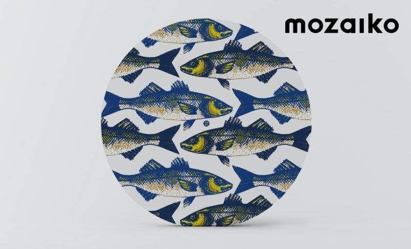 MOZAIKO Plato llano Presenta-platos Vajilla  |