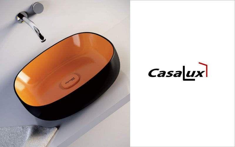 CasaLux Home Design Lavabo de apoyo Piletas & lavabos Baño Sanitarios  |