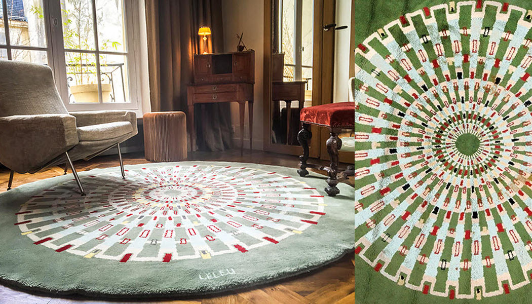 MAISON LELEU Alfombra contemporánea Alfombras contemporáneas Alfombras Tapices Salón-Bar | Design Contemporáneo