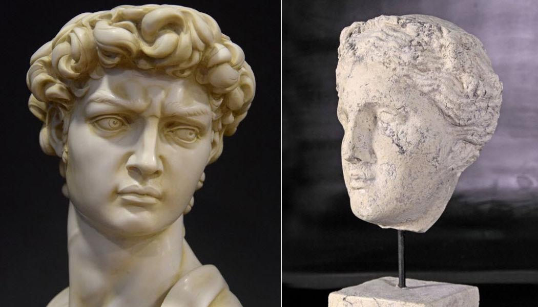 DECORAR CON ARTE Cabeza humana Esculturas estatuarias Arte  |