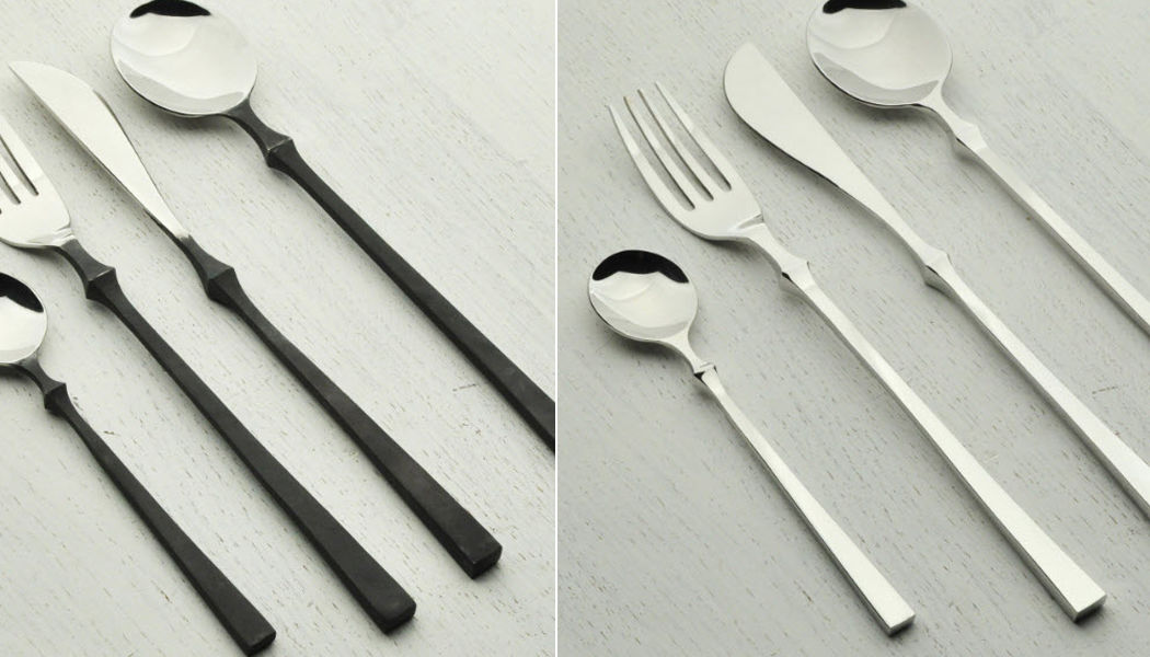 Blue Leaves Tenedor Tenedores Cubertería  |