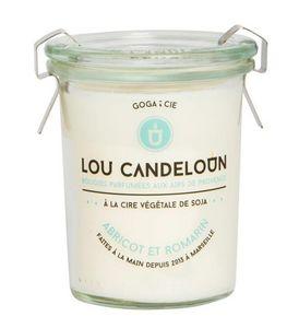 LOU CANDELOUN - abricot et romarin - Vela Perfumada
