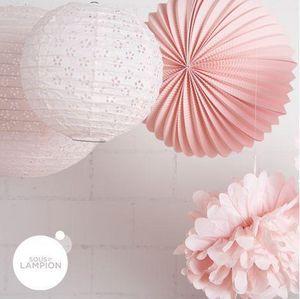 SOUS LE LAMPION - pink party - Farolillo