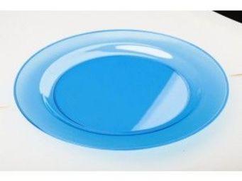 Adiserve - sous-assiette turquoise 30 cm - Plato Desechable