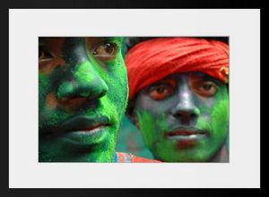 PHOTOBAY - holi faces n°2 - Fotografía