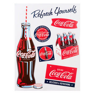 MAISONS DU MONDE - sticker coke - Adhesivo
